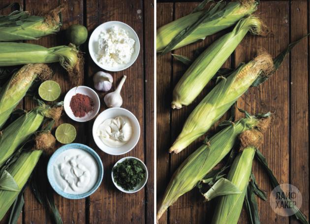 Кукуруза по-мексикански: ингредиенты