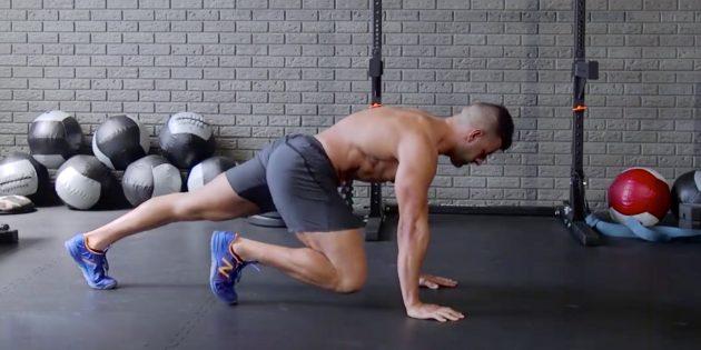 ВИДЕО: 52 варианта упражнения «альпинист» от Men's Health