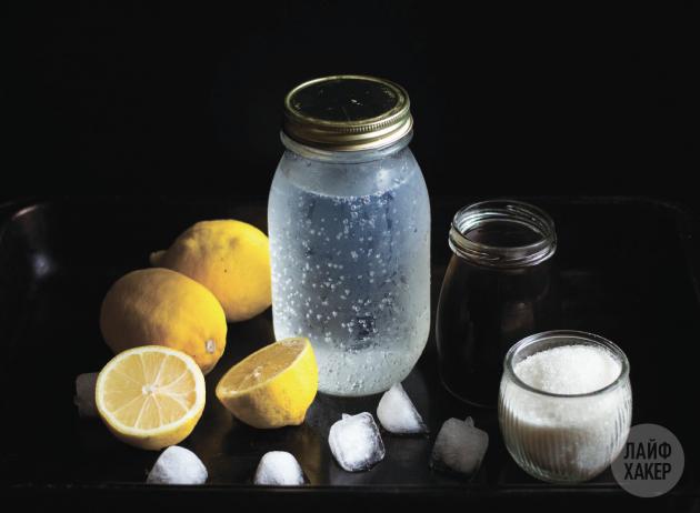 Кофейный лимонад: ингредиенты