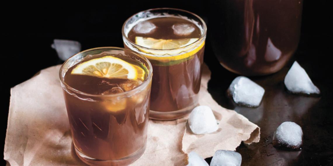 Как приготовить кофейный лимонад