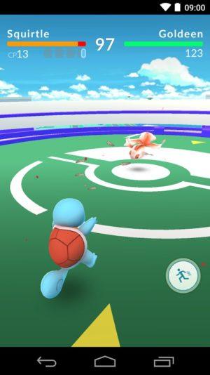 Pokemon GO: сражение