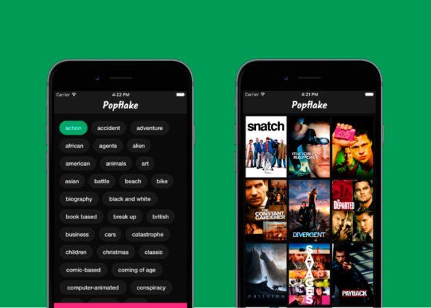 Popflake для iPhone поможет выбрать фильм для просмотра