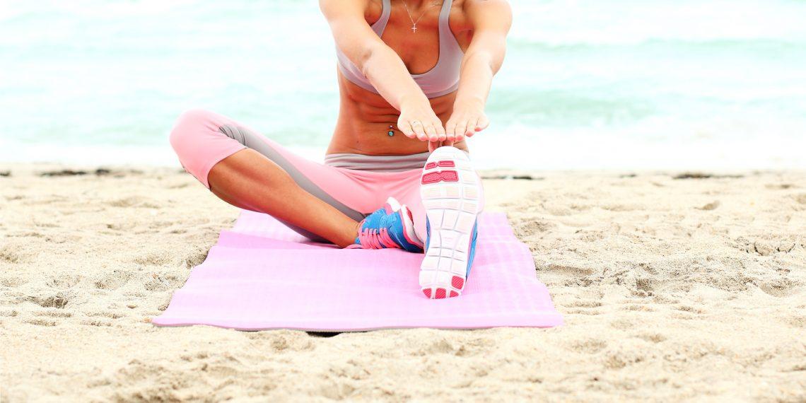 Высокоинтенсивная интервальная тренировка, которую можно провести на пляже