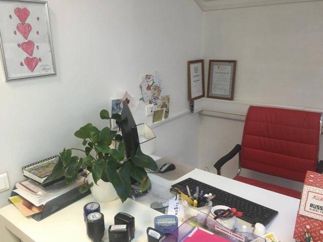 Инна Алексеева, PR Partner: рабочее место