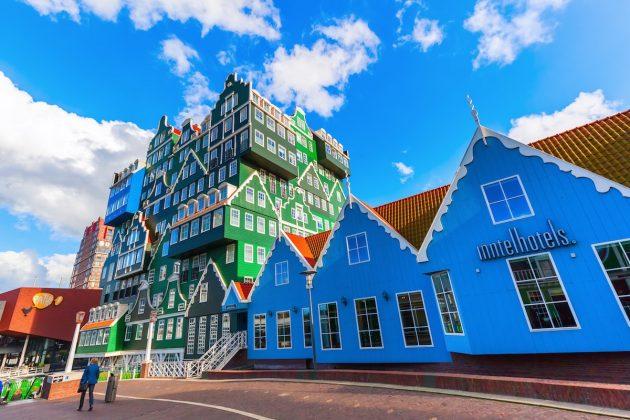 архитектура Европы: Inntel Hotel in Amsterdam