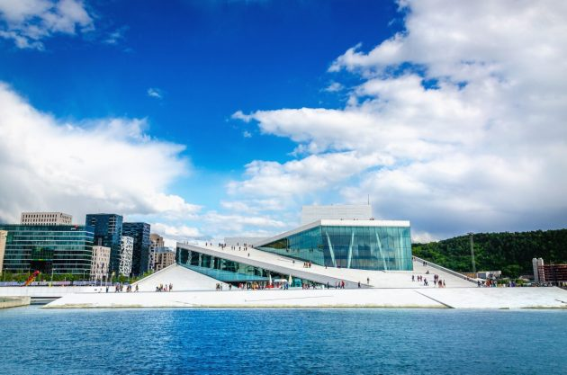 архитектура Европы: Opera House in Oslo