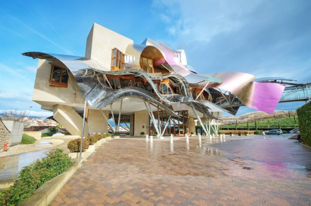 архитектура Европы: Marques de Riscal winery