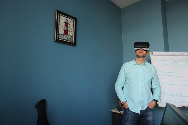 Вадим Мамонтов, RussiaDiscovery: в очках Gear VR
