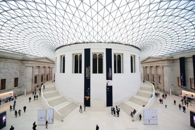 архитектура Европы: Great Court at the British Museum