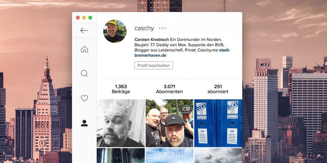 Ramme — простой и надёжный клиент Instagram для настольных платформ