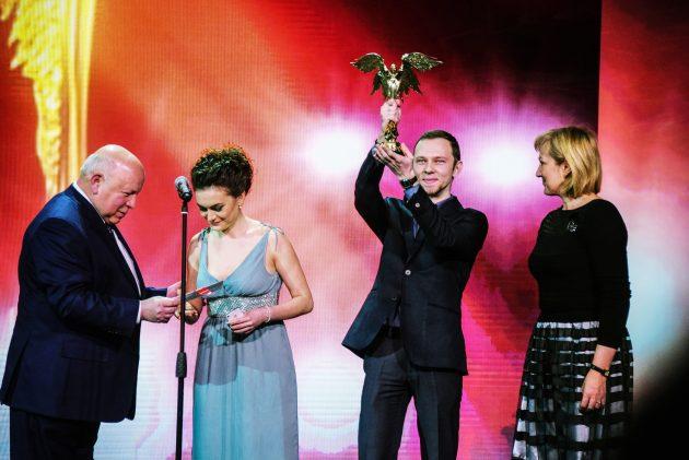 Александр Сидельников на вручении премии «Ника»