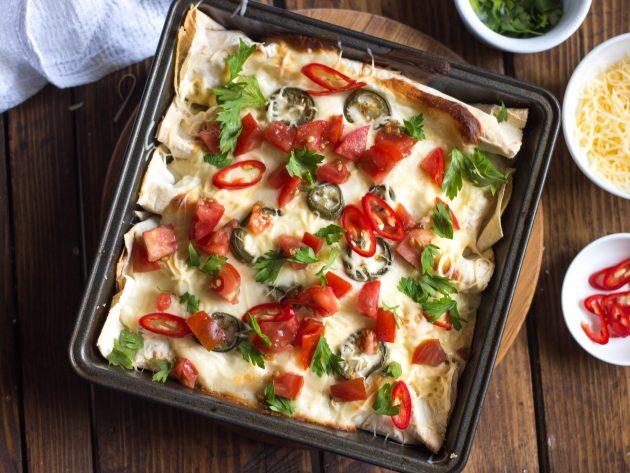 энчилада: готовое блюдо