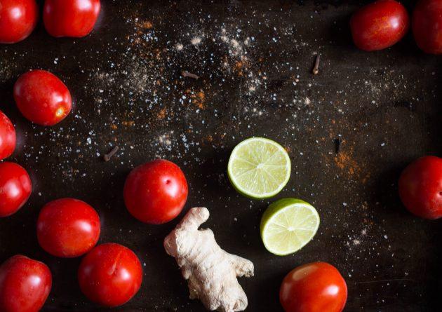 томатный джем: ингредиенты