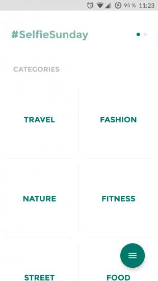 Magnify for Instagram: категории