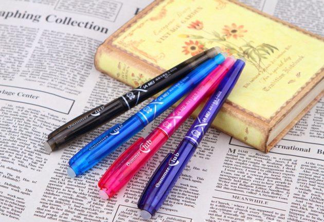Стирающаяся ручка