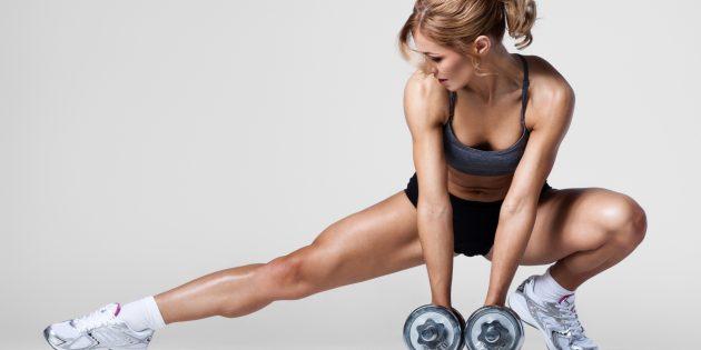 Короткая жиросжигающая тренировка для всего тела от Men's Health