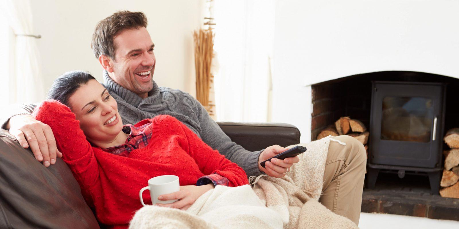 Фото семейной пары в домашних условиях