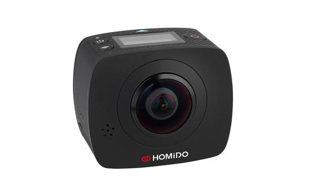 Homido V2: камера