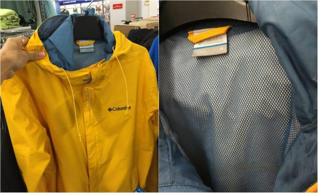 Куртки с подкладкой из сетки