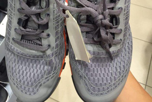 Как выбрать спортивную обувь: кроссовки с сеткой