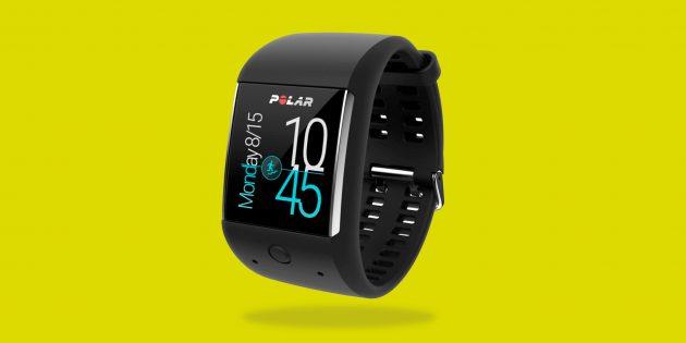 Polar M600 — спортивные часы на Android Wear со встроенным оптическим пульсометром
