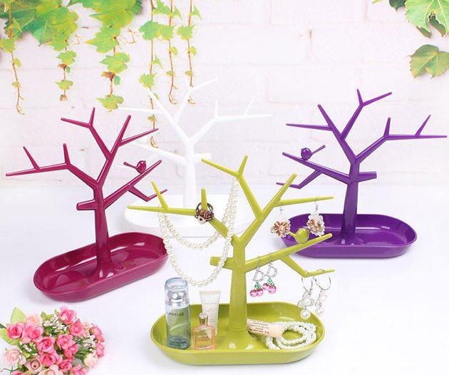 Деревца-держатели для колец и браслетов