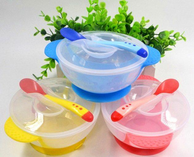 товары для молодых мам Набор посуды для малыша