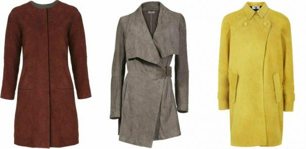 Как почистить замшевое пальто