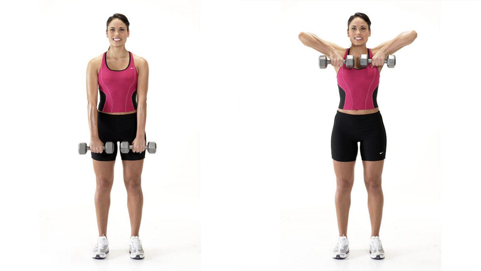 Похудеть Верхней Части Рук. Быстрое похудение рук и плеч: упражнения и диета
