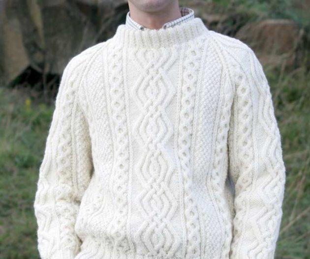 как выбрать свитер: Свитер аранской вязки