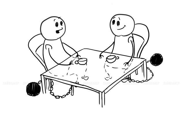 типы друзей: друг по обязательствам