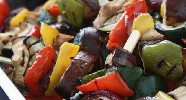 Меню на неделю: запечённые овощи