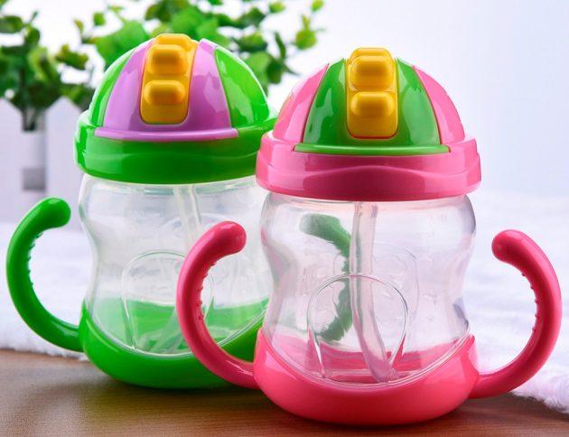 товары для молодых мам Бутылка-непроливайка