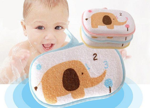 товары для молодых мам Губка для мытья