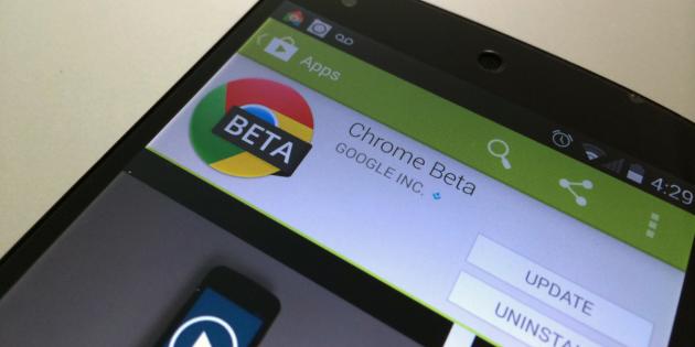 Chrome Beta для Android научился воспроизводить ролики с YouTube в фоновом режиме