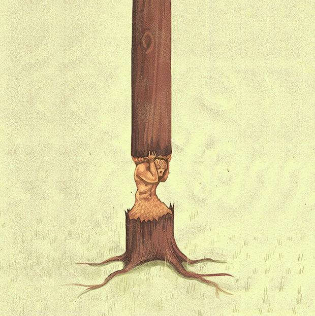 суть современного общества: вырубка лесов