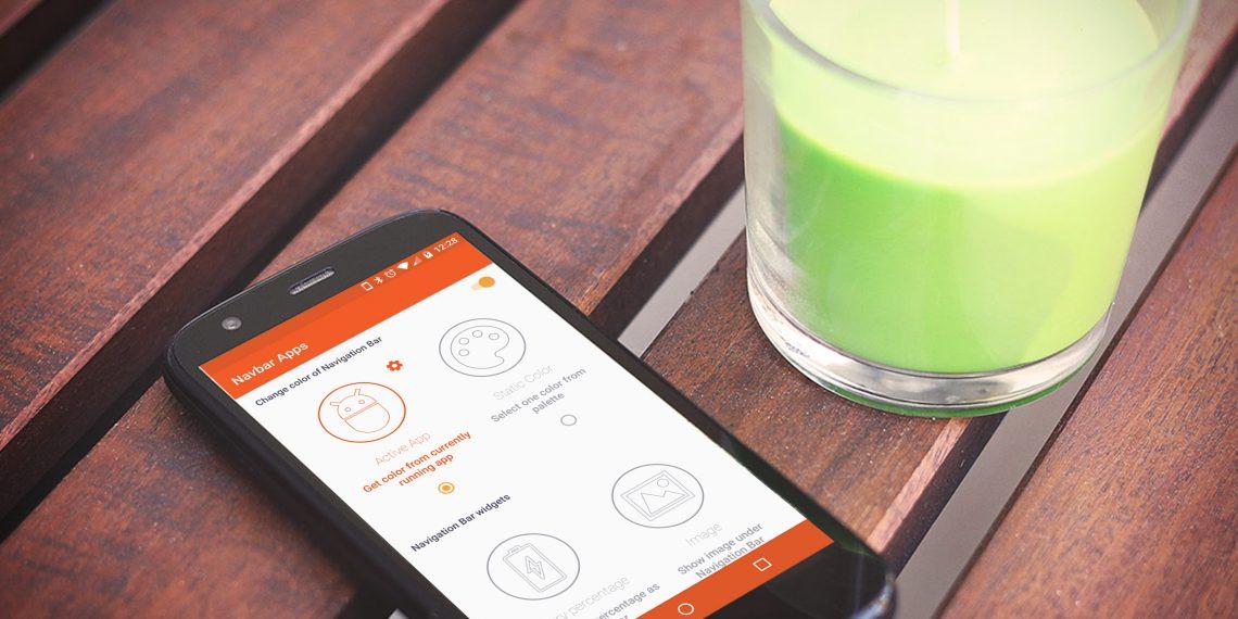 Navbar Apps делает навигационную панель Android весёлой и красивой