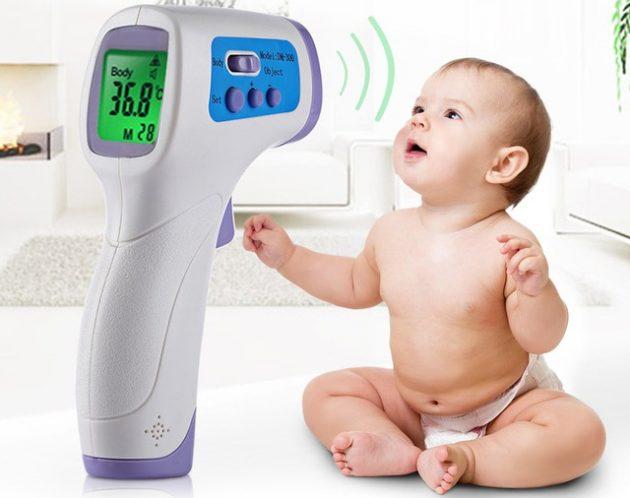 товары для молодых мам Цифровой термометр