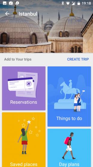 Google Trips Istnbul