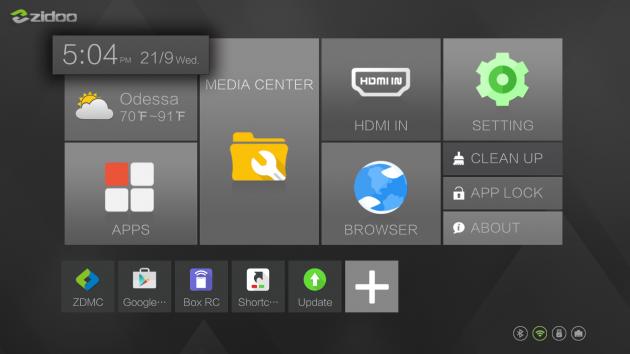ZIDOO X9S app