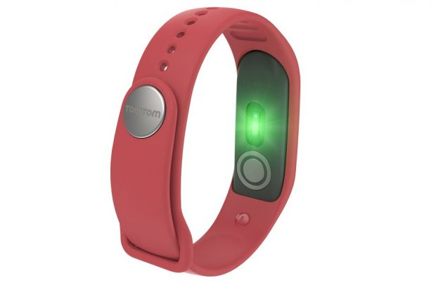 TomTom Touch red