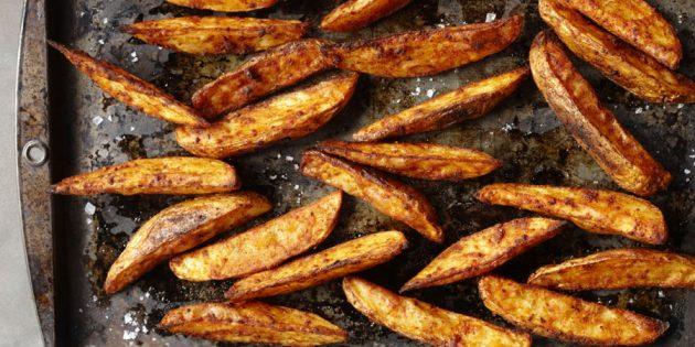 полезные перекусы: картофель