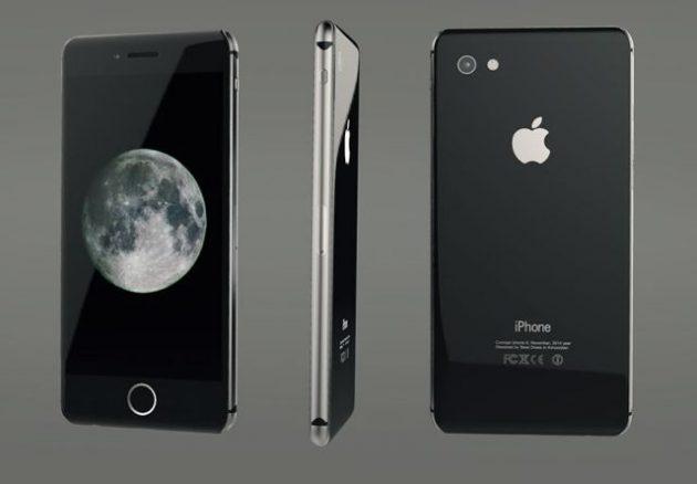Концепт корпуса iPhone 8
