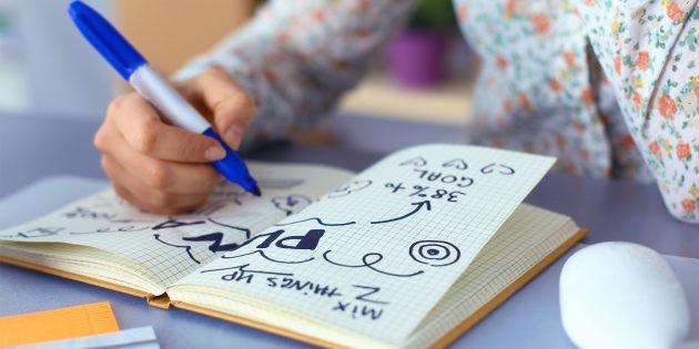 Как правильно рисовать в конспекте и зачем это нужно