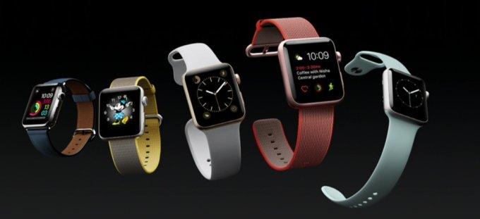 Представлены обновлённые Apple Watch Series 2