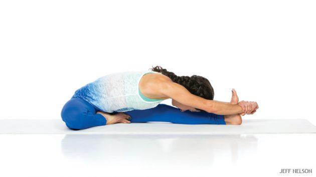 асаны йоги: Джану Ширшасана