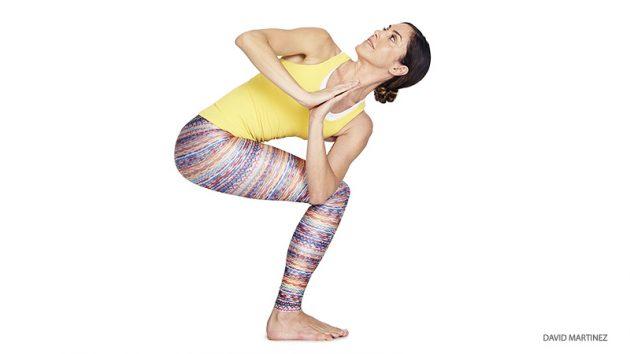 асаны йоги: Паривритта Уткатасана II
