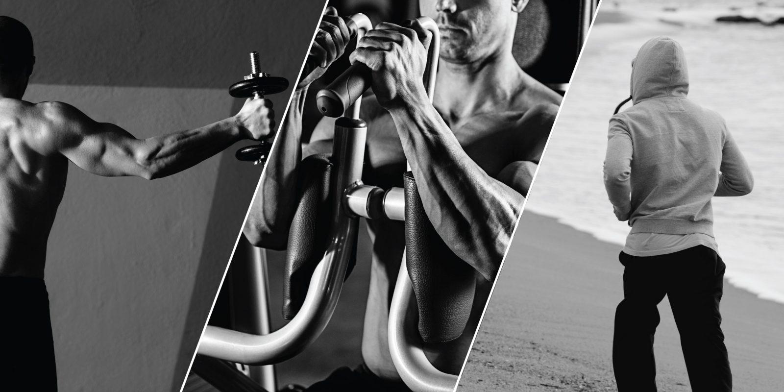 схема силовых физических упражнений для мужчин