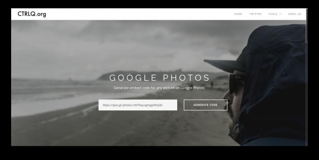 Embed Google Photos 2