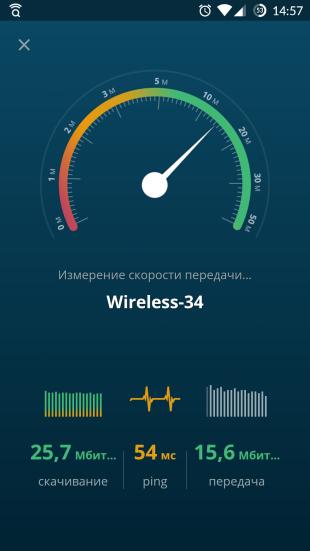 Avast Wi-Fi Finder: измерение скорости